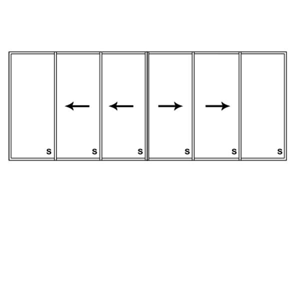 6 Panel Slider
