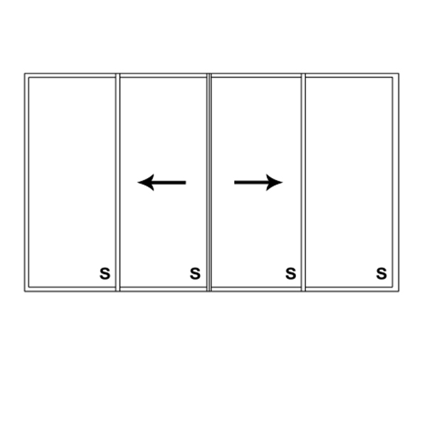 4 Panel Slider